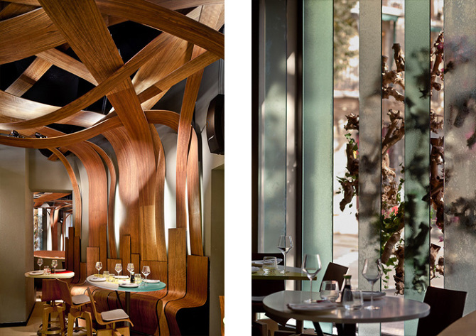 Ikibana restaurant   el equipo creativo   interior design studio ...